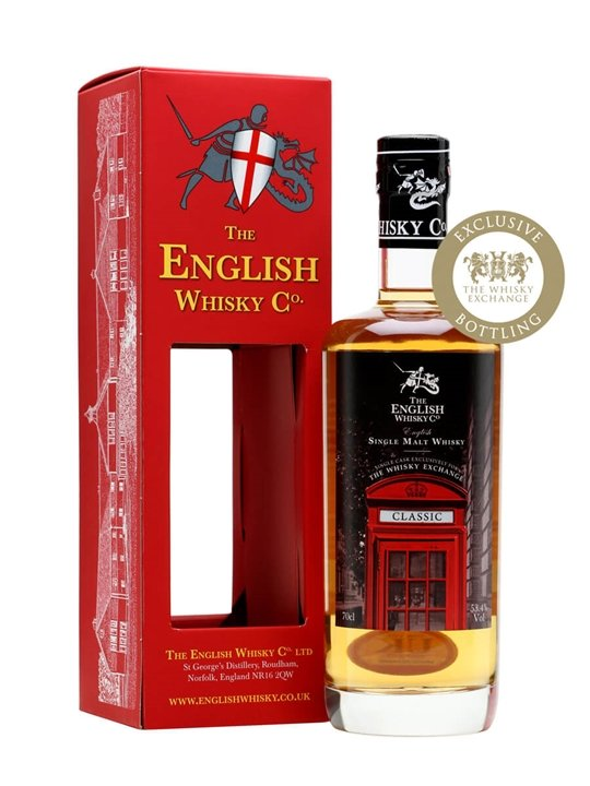 English Whisky Co. Classic / TWE Exclusive English Single Malt Whisky
