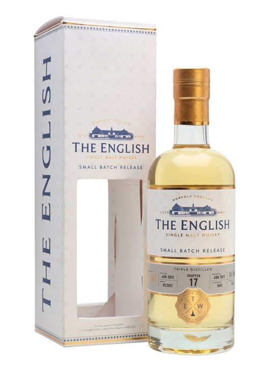 English Whisky Co. Chapter 17 / Triple Distilled English Whisky