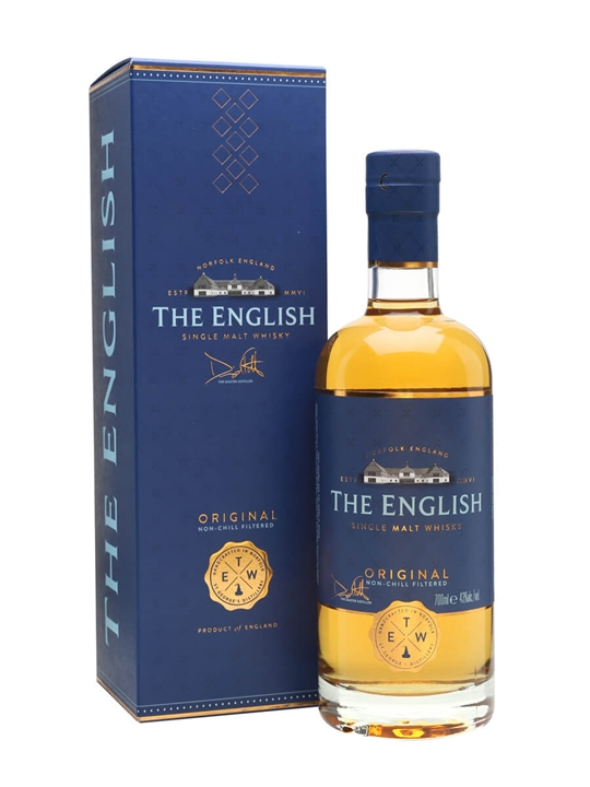 The English Original Single Malt Whisky English Single Malt Whisky