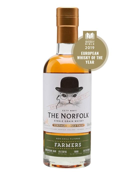 The Norfolk Farmers Single Grain Single Grain English Whisky