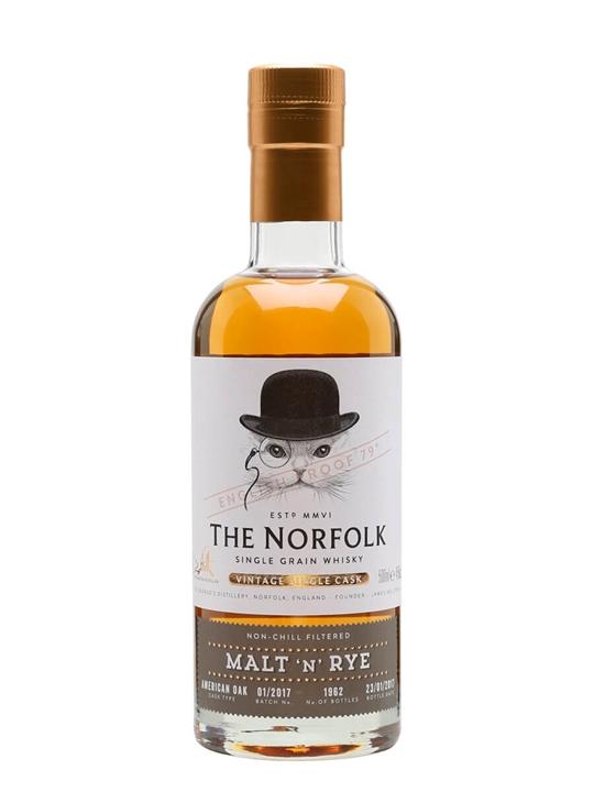 The Norfolk Malt 'n' Rye Single Grain English Single Grain Whisky