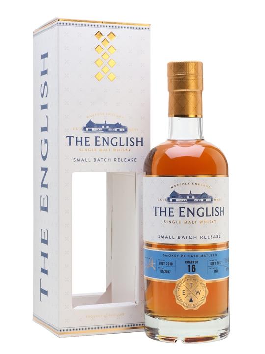 English Whisky Co. Chapter 16 2010 / Bot.2017 English Whisky