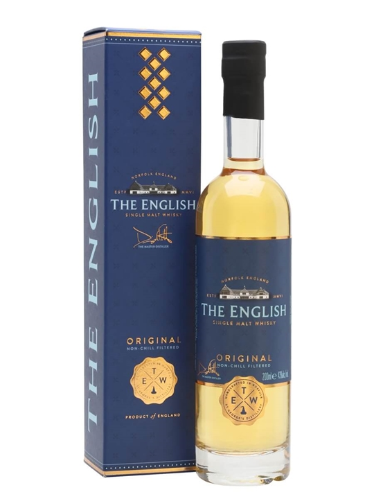 The English Original Single Malt Whisky / Small Bottle English Whisky