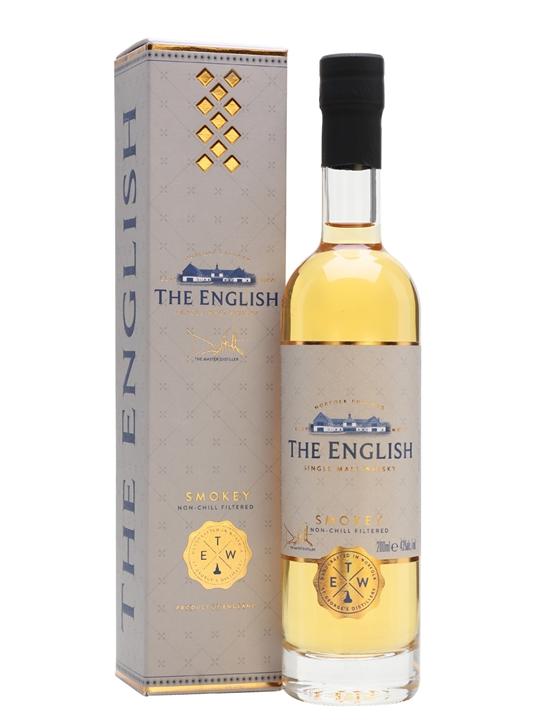 The English Smokey Single Malt Whisky / Small Bottle English Whisky