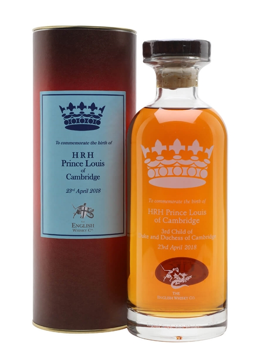 English Whisky Co. HRH Prince Louis of Cambridge Whisky English Whisky