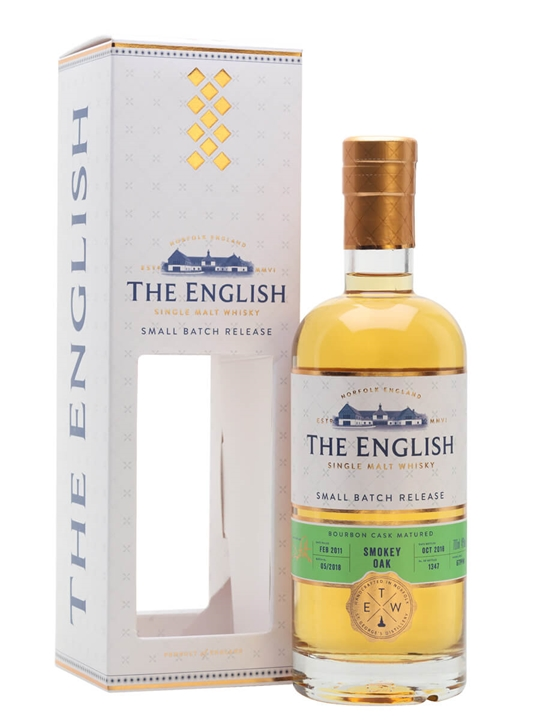 The English Small Batch / Smokey Oak Bourbon Cask English Whisky