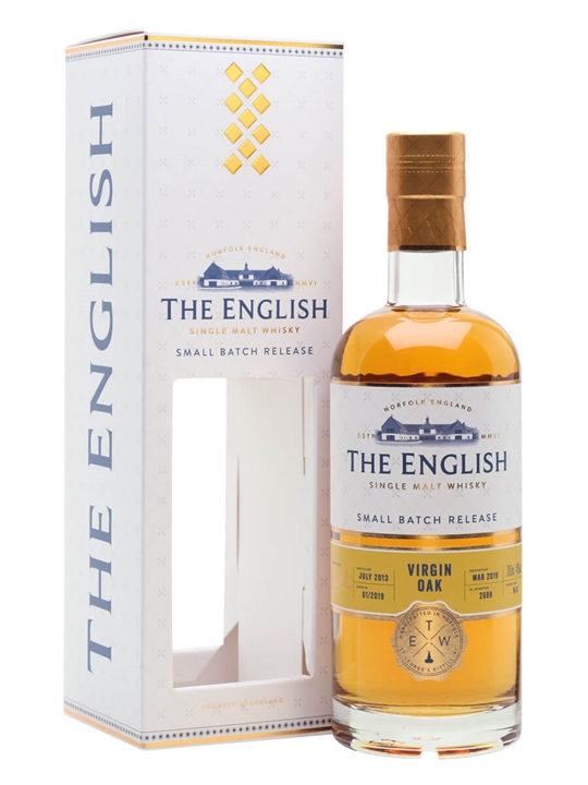 The English Small Batch / Virgin Oak English Single Malt Whisky