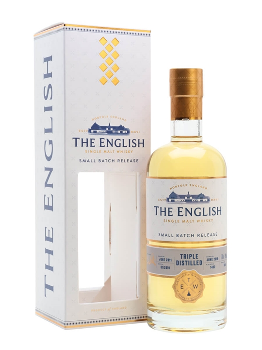 English Whisky Co. Triple Distilled Single Malt Whisky