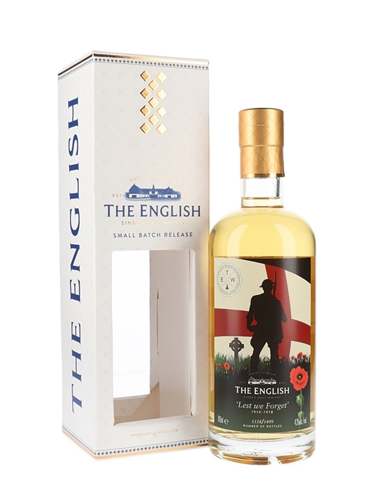 English Whisky Co. Lest We Forget / 2019 Release