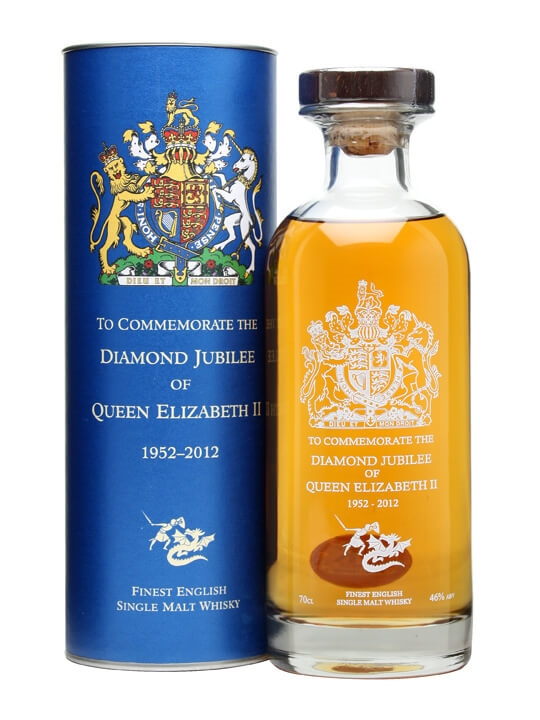 English Whisky Co.  Queens Diamond Jubilee Decanter English Whisky