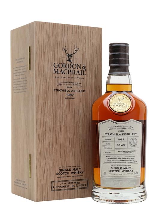 Strathisla 1987 / Connoisseurs Choice Speyside Whisky