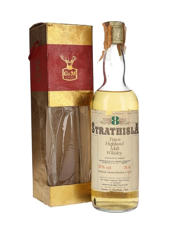 Strathisla 8 Year Old / Bot.1980s / Gordon & Macphail Speyside Whisky
