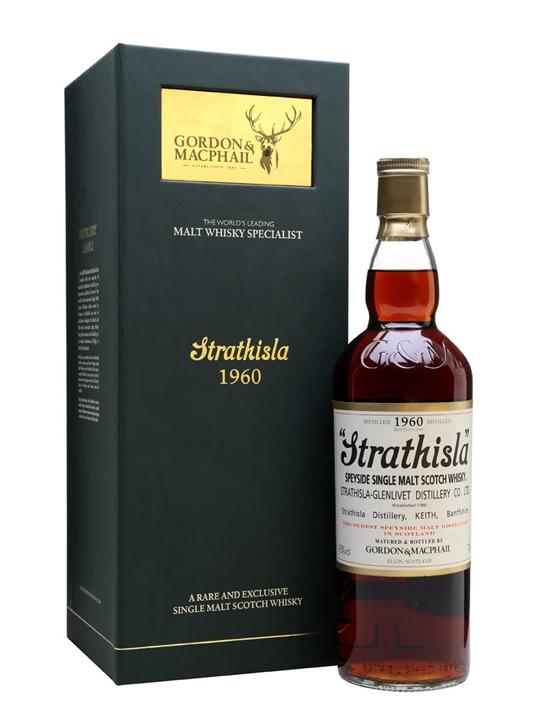 Strathisla 1960 / 53 Year Old / Sherry Cask / G&M Speyside Whisky
