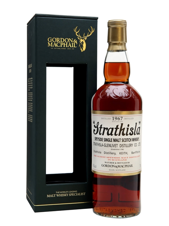 Strathisla 1967 / 48 Year Old / Sherry Cask / Gordon & MacPhail Speyside Whisky