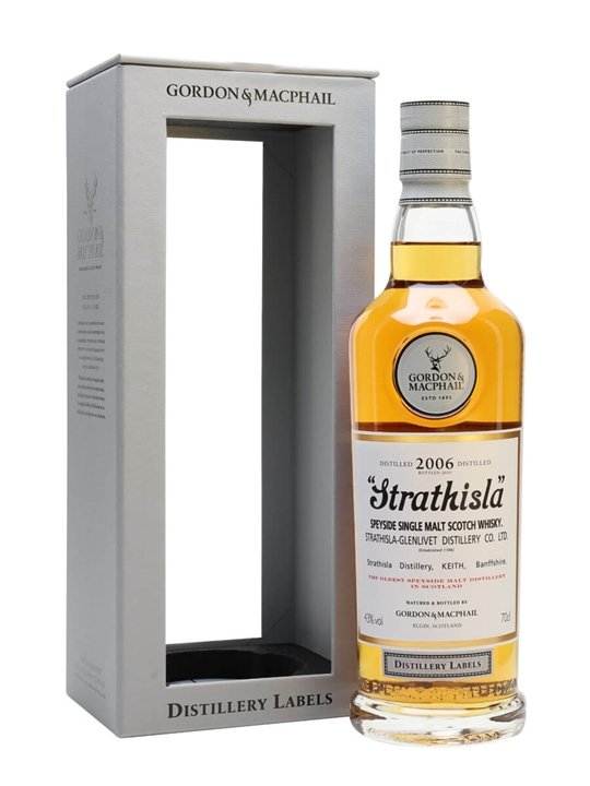 Strathisla 2006 / Gordon & MacPhail Distillery Labels Speyside Whisky