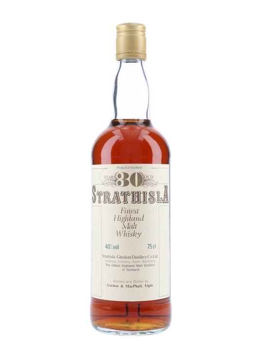 Strathisla 30 Year Old / Bot.1980s Speyside Single Malt Scotch Whisky