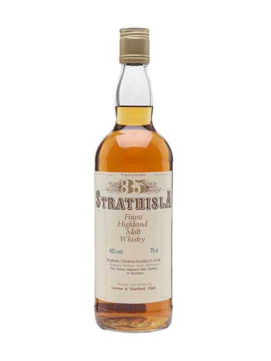 Strathisla 35 Year Old / Bot.1980s / Gordon & Macphail Speyside Whisky