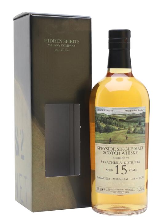 Strathisla 2002 / 15 Year Old / Hidden Spirits Speyside Whisky