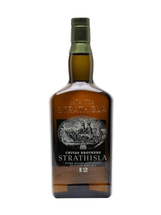 Strathisla 12 Year Old / Old Presentation Speyside Whisky
