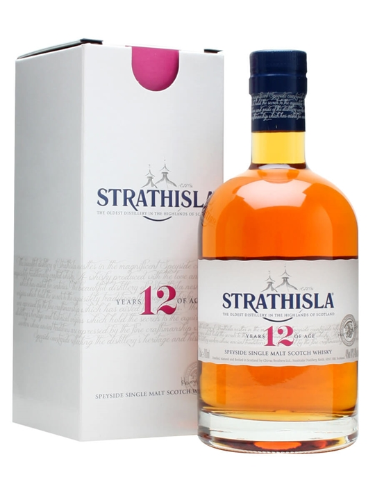 Strathisla 12 Year Old Speyside Single Malt Scotch Whisky