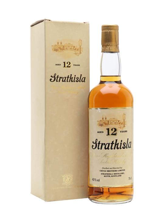 Strathisla 12 Year Old / Bot.1980s Speyside Single Malt Scotch Whisky