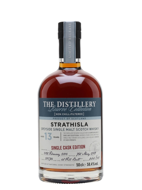 Strathisla 2006 / 13 Year Old / Sherry Cask / Distillery Edition Speyside Whisky