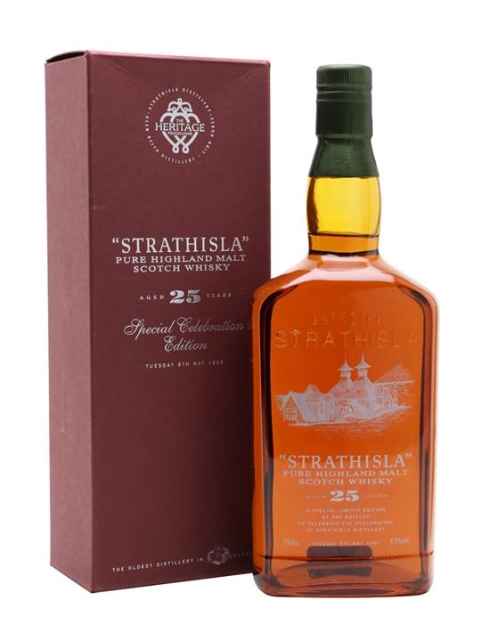 Strathisla 25 Year Old / Special Staff Bottling Speyside Whisky