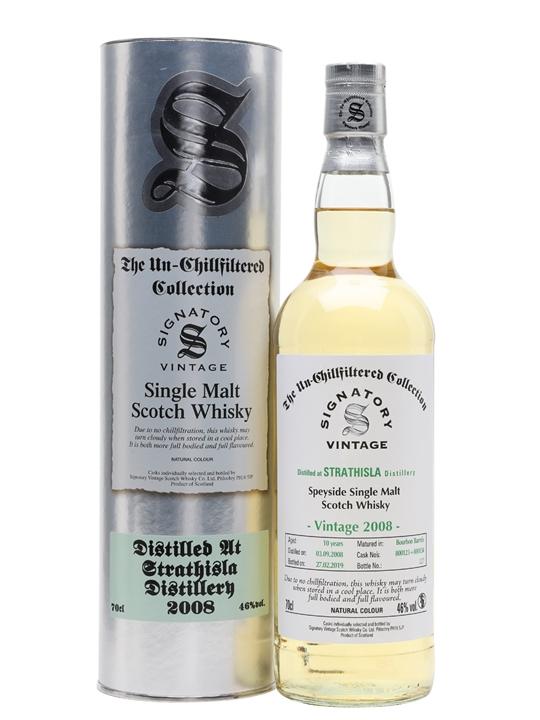 Strathisla 2008 / 10 Year Old / Signatory Speyside Whisky