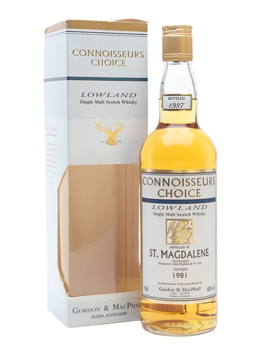 St. Magdalene 1981 / Bot.1997 / Connoisseurs Choice Lowland Whisky