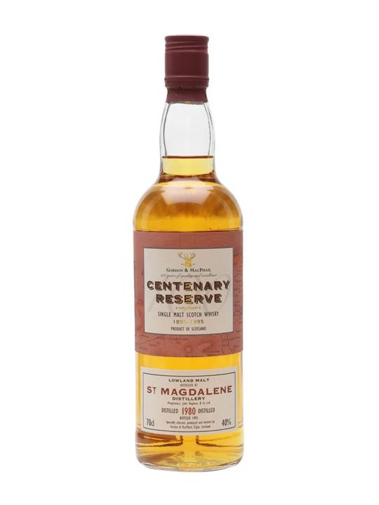 St Magdalene 1980 / Centenary Reserve / Gordon & Macphail Lowland Whisky