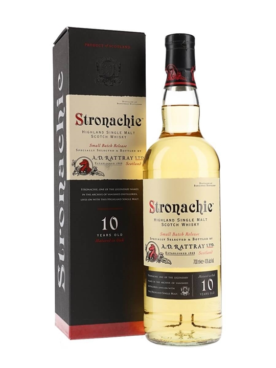 Stronachie 10 Year Old Speyside Single Malt Scotch Whisky