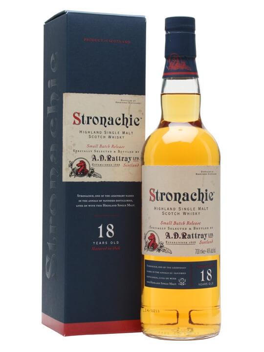 Stronachie 18 Year Old Speyside Single Malt Scotch Whisky