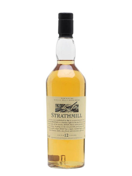 Strathmill 12 Year Old Speyside Single Malt Scotch Whisky