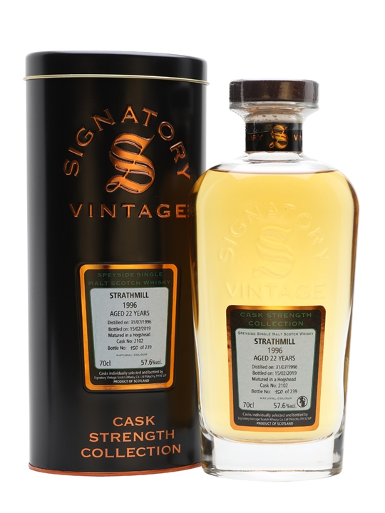 Strathmill 1996 / 22 Year Old / Signatory Speyside Whisky