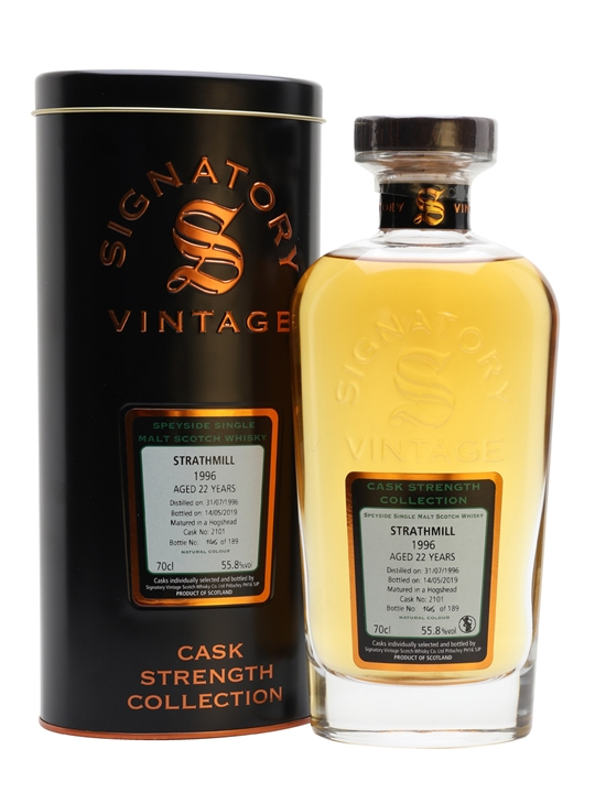 Strathmill 1996 / 22 Year Old / Signatory Speyside Whisky