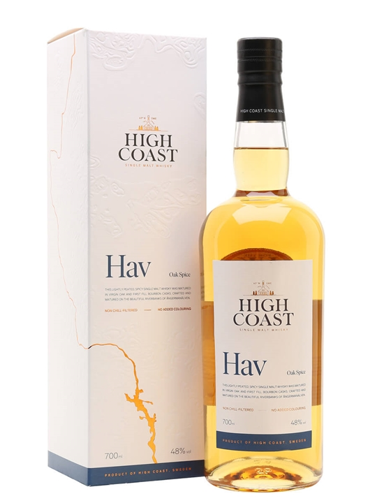 High Coast Hav / Oak Spice Swedish Single Malt Whisky