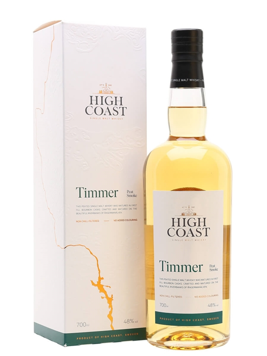 High Coast Timmer / Peat Smoke Swedish Single Malt Whisky
