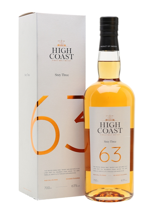 High Coast 63 / Peated Swedish Single Malt Whisky