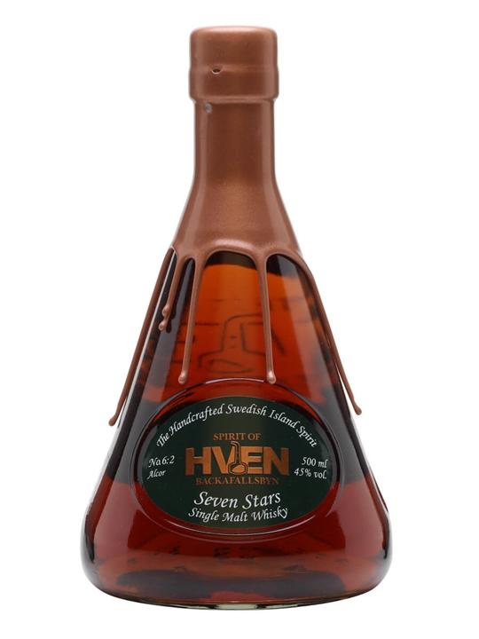 Spirit of Hven / Seven Stars No.6:2 Alcor Single Malt Swedish Whisky