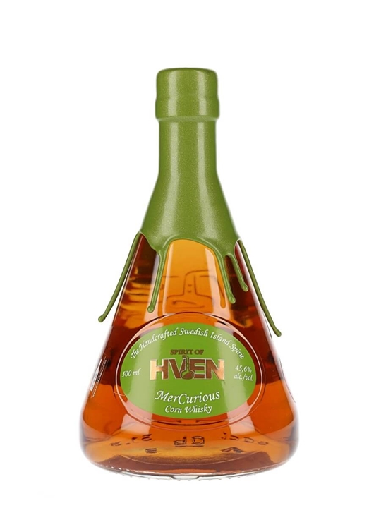 Spirit of Hven Mercurious Corn Whisky Swedish Single Malt Whisky