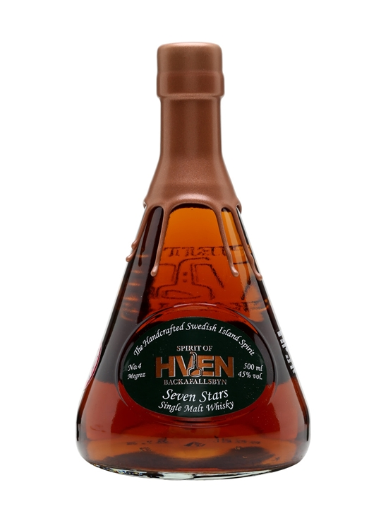 Spirit Of Hven Megrez / Seven Stars No.4 Swedish Single Malt Whisky