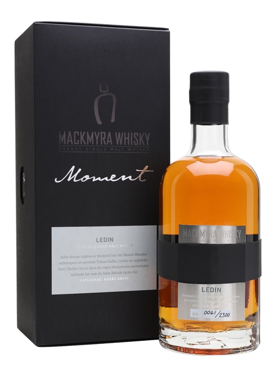 Mackmyra Ledin / Moment Series Swedish Single Malt Whisky