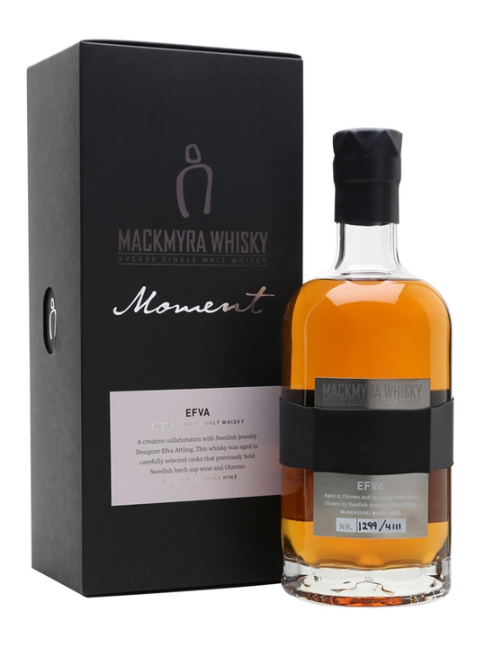 Mackmyra Moment Efva Swedish Single Malt Whisky
