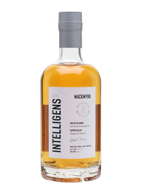 Mackmyra Intelligens / AI Whisky Swedish Single Malt Whisky