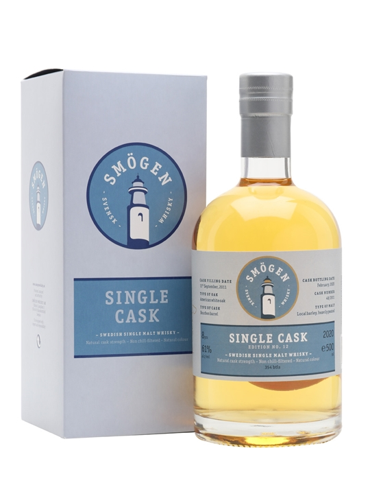 Smögen 2011 / Cask 48 / Single Cask Release 12 Swedish Whisky