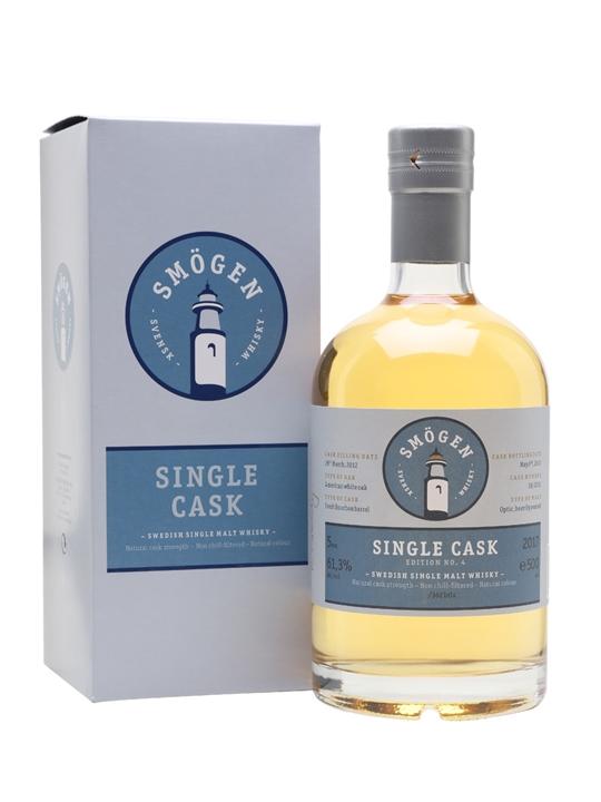 Smogen 2012 / Single Cask 18 Swedish Single Malt Whisky