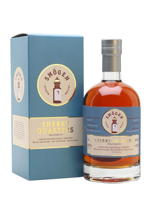 Smögen Sherry Quarters / Sherry Project 2:2 Swedish Single Malt Whisky