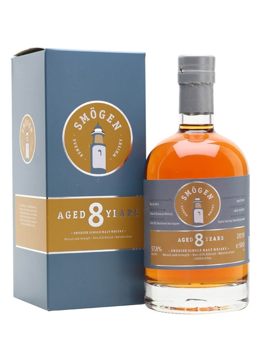 Smögen 8 Year Old / Sauternes Cask Swedish Single Malt Whisky
