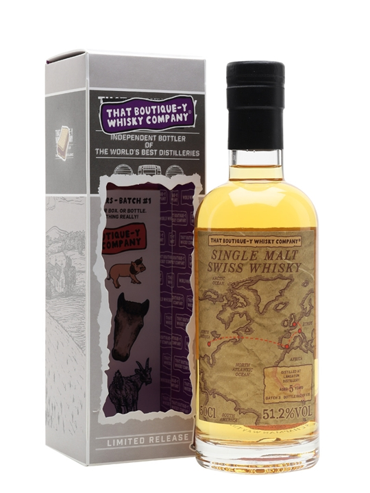 Langatun 5 Year Old / Batch 3 / That Boutique-y Whisky Company Single Whisky