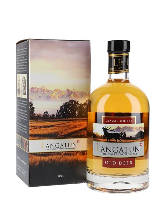 Langatun Old Deer Swiss Single Malt Whisky